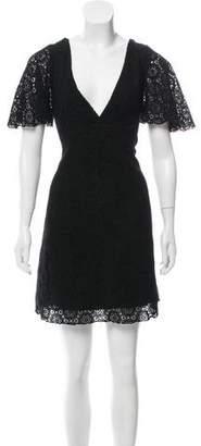 Jenni Kayne Crochet Mini Dress