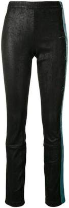 Haider Ackermann textured skinny trousers