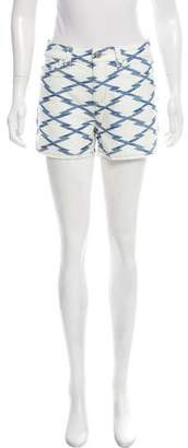 Etoile Isabel Marant Mid-Rise Denim Shorts