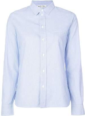 Alex Mill micro-stripes shirt