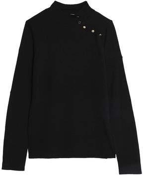 Goat Stretch-Knit Turtleneck Sweater