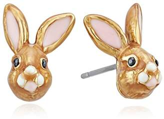 Kate Spade Womens Bunny Stud Earrings