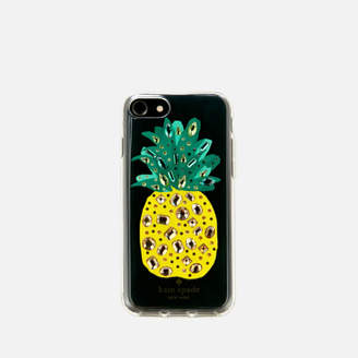 Kate Spade Women's Jewelled Pineapple iPhone 8 Cover - Clear/Multi