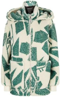 Burberry Cashmere-Silk Fleece Hoodie