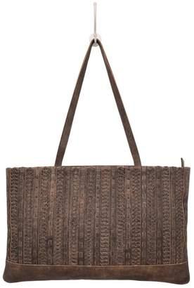Latico Leathers Mona Braided Bag