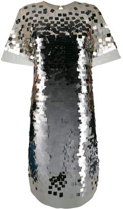 Ermanno Scervino sequin shift dress