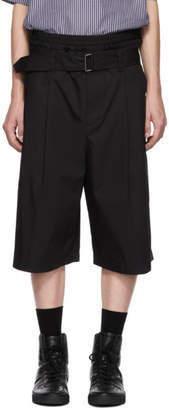 3.1 Phillip Lim Black Wide Shorts