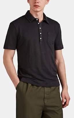 Massimo Alba Men's Linen Polo Shirt - Gray