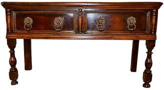 One Kings Lane Vintage 17th-C. English Sideboard - Black Sheep Antiques