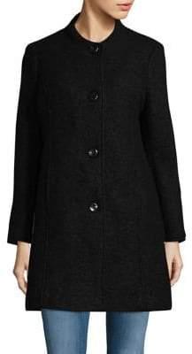 Ellen Tracy Petite Four-Button Coat