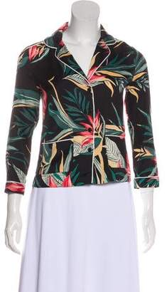 Rebecca Minkoff Floral Print Button-Up Top