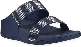 FitFlop Flare Strobe Platform Slide Sandals