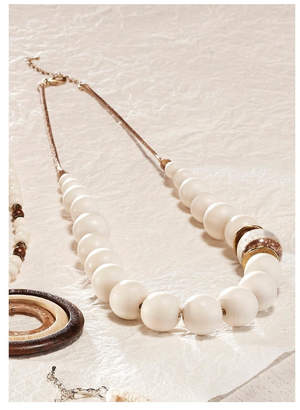 Paige Charlie White Statement Necklaces
