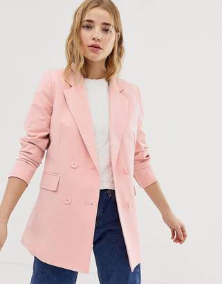 Pull&Bear Co-ord Tailored Double Breast Blazer