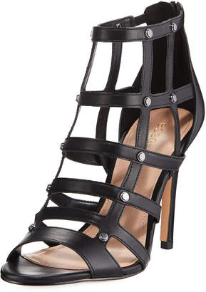 BCBGeneration Jenna Caged Leather Sandal