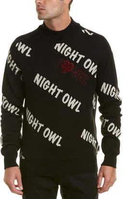 Ben Sherman Night Owl Wool-Blend Turtleneck Sweater