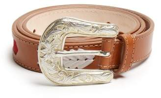Isabel Marant Tigoo Leather Belt - Womens - Tan