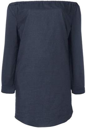 Rag & Bone Jean off-shoulders pocket dress