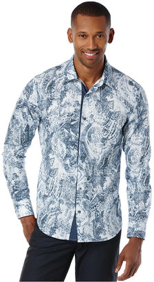 Perry Ellis Long Sleeve Paisley Print Shirt $79.50 thestylecure.com
