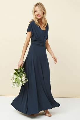 Next Womens Navy Multiway Bridesmaid Dress - Blue