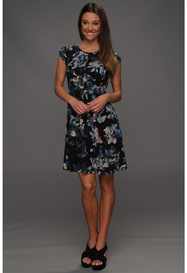 Rebecca Taylor Hawaii Easy Dress (Black) - Apparel