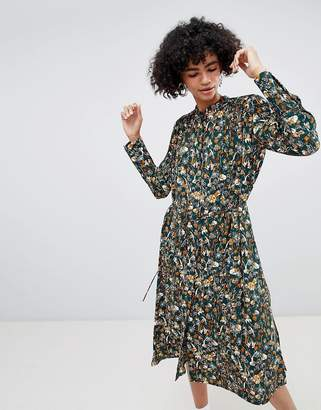 Weekday Retro Print Shirt Dress