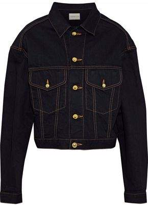 Simon Miller Keya Cropped Denim Jacket