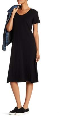 Allen Allen Long Dress with Side Slits