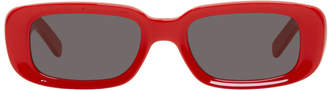 Off-White Red For Your Eyes Only Sunglasses