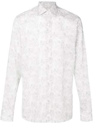 Z Zegna floral print button down shirt