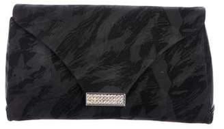 Gucci Vintage Embellished Flap Clutch
