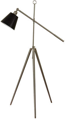 Stylecraft Style Craft Brushed Steel Floor Lamp