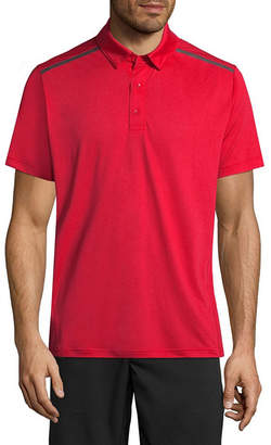 MSX BY MICHAEL STRAHAN Msx By Michael Strahan Short Sleeve Mesh Polo Shirt