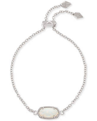 Kendra Scott Elaina Adjustable Chain Bracelet in Silver