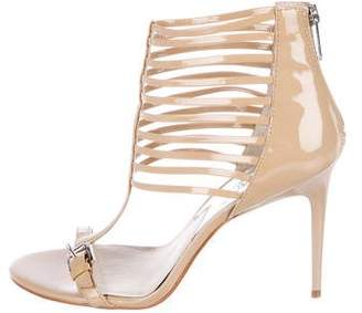MICHAEL Michael Kors Patent Leather Caged Sandals