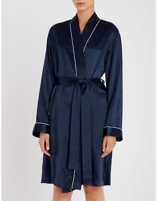 Derek Rose Bailey silk-satin kimono