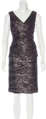 Versace Metallic Sheath Dress w/ Tags