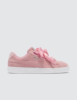 Puma Pink Suede Heart Galaxy Women's Sneaker
