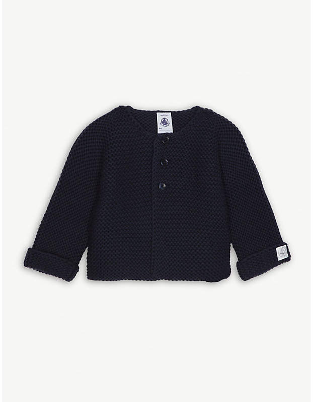 Knitted cotton cardigan 1-12 months