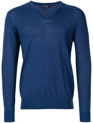 Hackett V-neck sweater