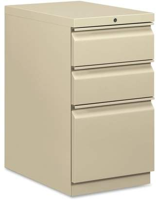 HON 3 Drawers Vertical Lockable Filing Cabinet, Putty