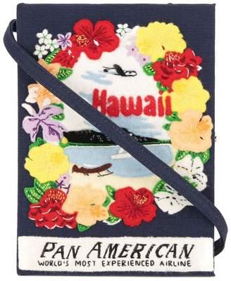 Olympia Le-Tan Hawaii book clutch