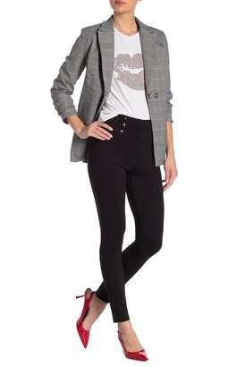 Romeo & Juliet Couture Button Detailed High Waist Leggings