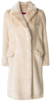 The Gigi loose fit furry coat
