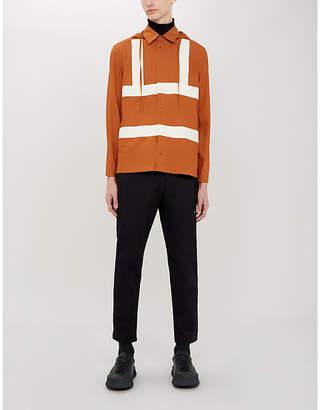 Craig Green Hooded panelled cotton shirt