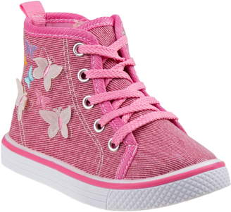Laura Ashley Butterfly High Top Sneaker