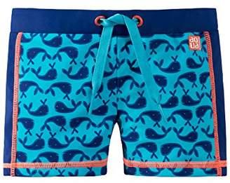 Schiesser Boy's Wal Willy Bade-Retro Swim Shorts,(Manufacturer Size: 92)