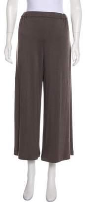eskandar Cashmere & Silk High-Rise Pants