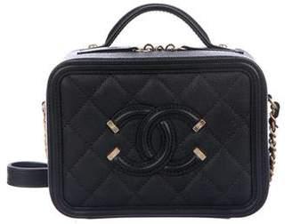 Chanel 2018 CC Filigree Vanity Case