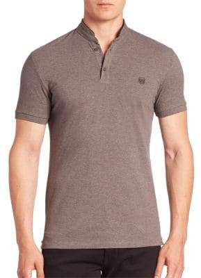 The Kooples SPORT Tipped Solid Polo